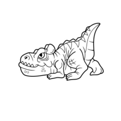 Baby Araripesuchus